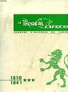 LE BOREAL EXPRESS, JOURNAL D'HISTOIRE…