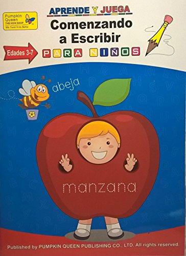 Writing / Comenzando a escribir. Aprende español / Learn Spanish - Libro de actividades para niños / Activities for kids - 1