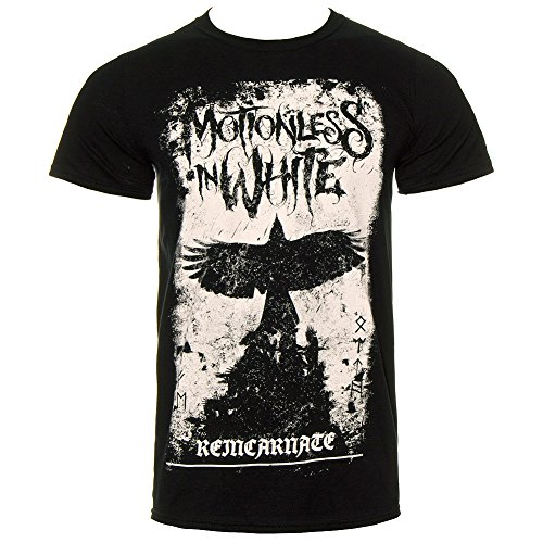 T Shirt Dei Motionless In White Fenice (Nero) - Large