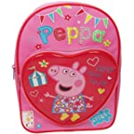 Peppa Pig Backpack with Heart Pocket...