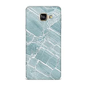 Samsung A3 2016 Case, Samsung A3 2016 Hard Protective SLIM Printed Cover [Shock Resistant Hard Back Cover Case] for Samsung A3 2016 -Rock Texture Printed