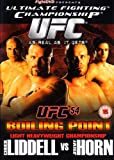 echange, troc Ultimate Fighting Championship - 54: Boiling Point [Import anglais]