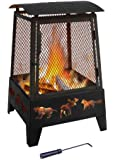 Landmann 25319 Haywood Wildlife Sturdy Steel Fire Pit