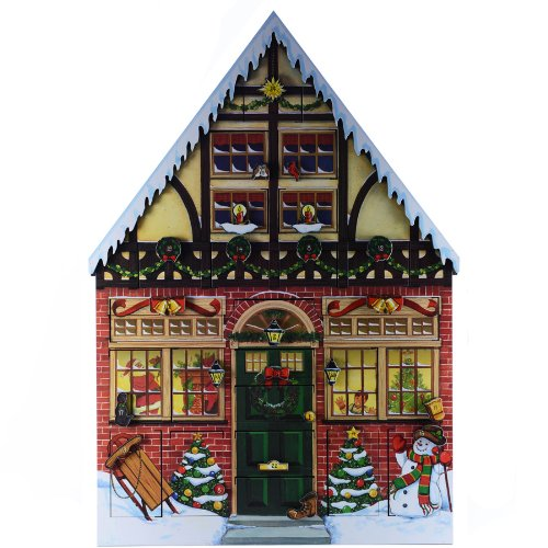 Byers Choice Christmas House Advent Calendar