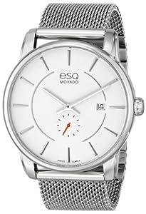ESQ Movado Men's 07301466 ESQ Capital Analog Display Swiss Quartz Silver Watch