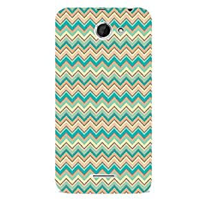 Skin4gadgets CHEVRON PATTERN 29 Phone Skin for DESIRE 516 (ONLY BACK)