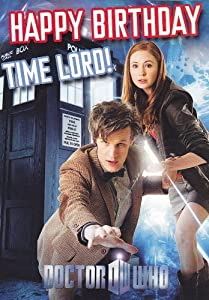 Official Doctor Who Birthday Card - Happy Birthday Time Lord