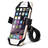 Okra® Universal Bicycle Bike & Motorcycle Smartphone Mount Holder [Most Secure] Handlebar Holder for all Smartphones iPhone and Galaxy [Lifetime Warranty]