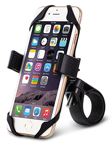 Okra-Universal-Bicycle-Bike-Motorcycle-Smartphone-Mount-Holder-Most-Secure-Handlebar-Holder-for-all-Smartphones-iPhone-and-Galaxy-Lifetime-Warranty