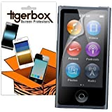 Tigerbox Crystal Clear LCD Screen Protector Cover Guard For Apple iPod Nano 7th Generation