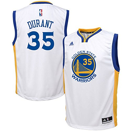 2930d993825 Kevin Durant Golden State Warriors  35 NBA Youth Home Jersey - Import It All