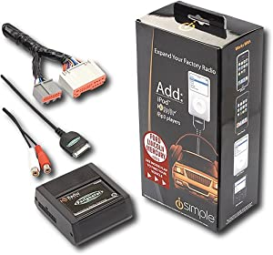 iSimple iPod Direct Connect Kit for Select Vehicles Ford Lincoln Mercury (Basic Install Included) ISFD74