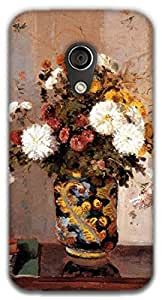 The Racoon Lean printed designer hard back mobile phone case cover for Moto G 2nd Gen. (Chrysanthe)