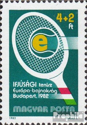 Ungarn 3537A (kompl.Ausg.) postfrisch 1982 Tennis-EM der Junioren (Briefmarken für Sammler)
