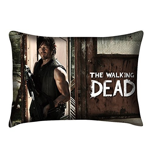 The Walking Dead Daryl Dixon Pillowcase Twin sides Pillowcase cover Size 20x30 Inch