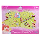 Disney Princess 2 in 1 Creativity Set Jewellery Kit Game Suitable For Ages 5+