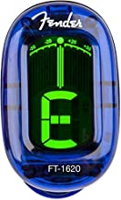 Fender FT160 California Tuner LPB · Afinador - Afinador FT-1620 California Series Clip-On Tuner, Lake Placid Blue
