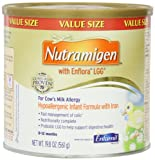 Nutramigen with Enflora LGG for Cows Milk Allergy Powder Can, for Babies 0-12 Months, 19.8 Ounce