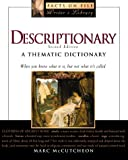 Descriptionary: A Thematic Dictionary (Facts on File Writer's Library) (0816041067) by McCutcheon, Marc