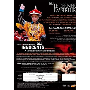 Le dernier empereur; Innocents the dreamers - 2 DVD