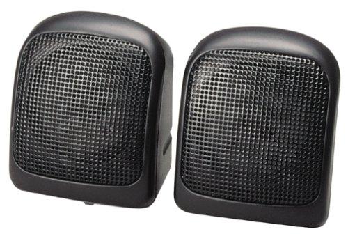 Labtec SS-11 2 0 Portable Speakers 2-Speaker BlackB00006B9CH