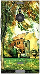 The Racoon Lean Farmhouse and Chestnut at Bouffan hard plastic printed back case / cover for Nokia Lumia 1520