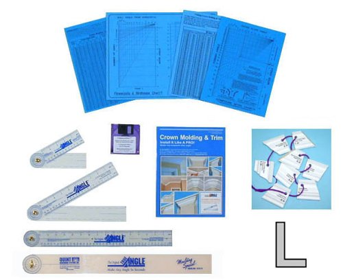 Pkg. 2 - Crown Molding & Trim Contractor Complete Package -- Free set of Crown Molding Templates