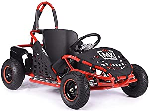 Rocker MAD MAX off-road buggy Go-kart electric 48v 1kw quad pit bike RED from KAYO