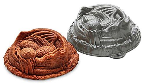 Sleeping Dragon Protecting Eggs Cake Mold Pan - Heavy duty alluminum alloy