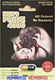 Appliances Men Best Deals - 4 Pack Men's Pride 4000 Natural 1000mg Herb Extract Male Enhancement Aumentador De Libi by Men's Pride 4001