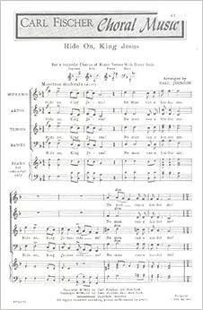 On music sheet jesus download johnson ride hall king