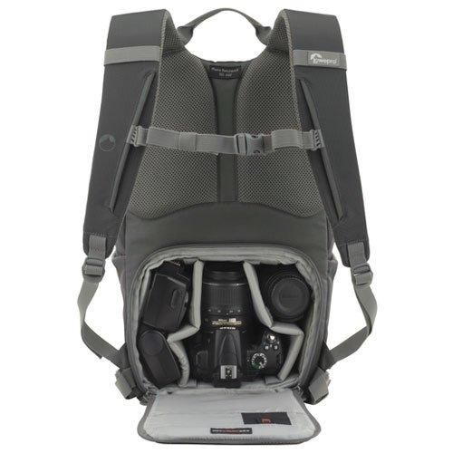 【国内正規品】Lowepro カメラリュック フォトハッチバッグ22L AW 22L レインカバー PCスペース有 グレー 364341