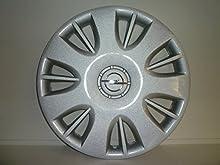Juego de Tapacubos 4 Tapacubos Diseño de Opel Corsa de 2006 r 15 () Logo Cromado