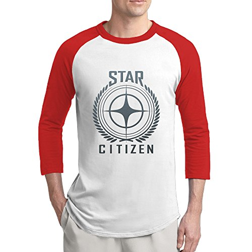 Star-Citizen-Logo-Mens-Fashion-100-Cotton-34-Sleeve-Athletic-Baseball-Raglan-Sleeves-T-Shirt