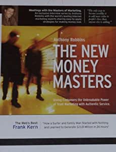 Anthony Robbins - The New Money Masters - with Frank Kern (1 CD, 1 DVD, & Action Book)