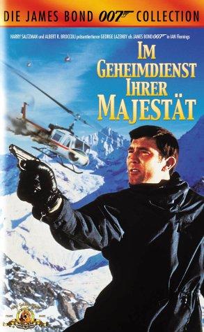 James Bond 007 - Im Geheimdienst Ihrer Majestät [VHS]