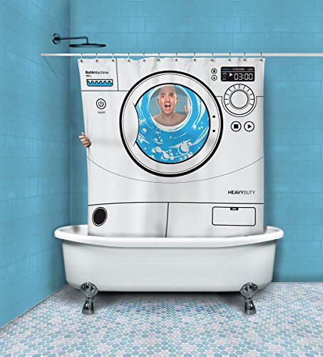 Shower Curtian Washing Machine front-4248