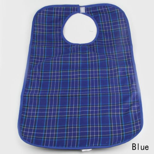 Large Waterproof Adult Mealtime Bib Clothes Clothing Protector Dining Aid Apron