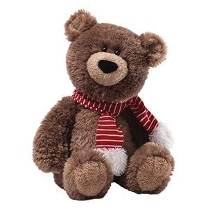 "Gund Fun Christmas Snuffy Snuggle Bottoms Bear Medium 18"" Plush from Gund Fun"