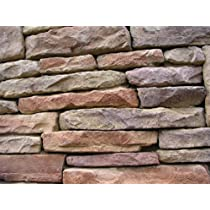1 Set of 16Molds to Make Drystack Ledgestone Rock, ODL-04