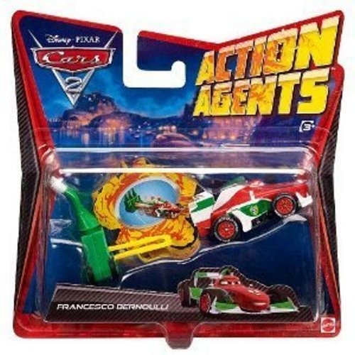 Disney-Pixar Cars 2 Action Agents: Francesco Bernoulli