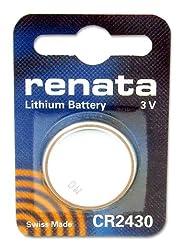 RENATA CR 2430 LITHIUM BATTERY FOR ELINCHROM TRIGGER