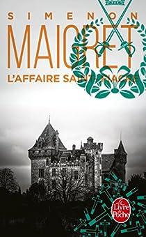 L'Affaire Saint-Fiacre par Simenon