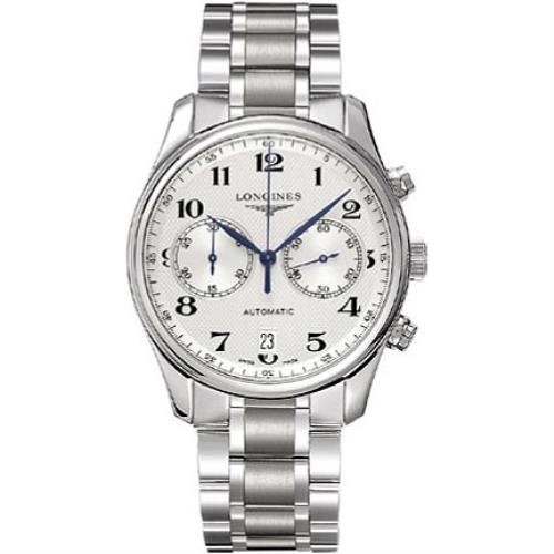 Longines Master Collection L26294786 40mm Automatic Silver Steel Bracelet & Case Synthetic Sapphire Men's Watch