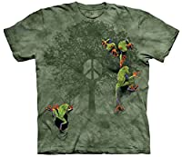 Peace Tree Frog Frosch Erwachsenen T-Shirt von The Mountain - The Mountain