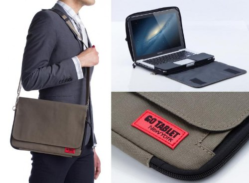 Go Tablet Hybrid Folio Case / Messenger Bag for Macbook Air 11