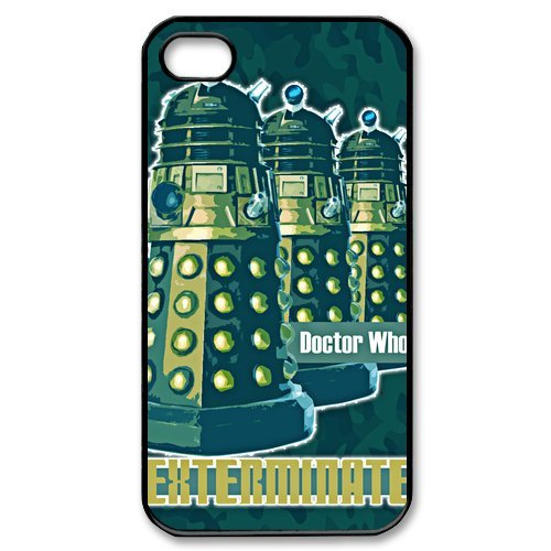 Apple Iphone 4S/4 Case Cover Alek Doctor Who Infographic Star Wars R2D2 Vintage