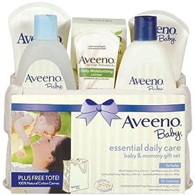 (好礼)Aveeno Baby Gift Set Daily Care婴儿日常护理六件套礼品蓝 $22.7