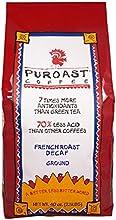 Puroast Low Acid Coffee French Roast Natural Decaf Drip Grind 25-Pound Bag