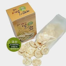 Bongpyeong 50gX3 buckwheat pastry pieces / bitter buckwheat use / snack kids and adults